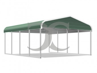 Carport | Regular Roof | 18W x 21L x 7H | 2 Gables