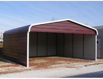 Carport | Regular Roof | 20W x 21L x 7H`